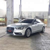 Jual AUDI A4 1.8 SILVER 2013 FACELIFT