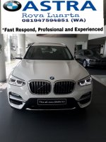 Jual X series: Allnew BMW X3 luxury 2018
