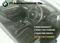 3 series: JUAL NEW BMW F30 320i LUXURY, SPECIAL PRICE