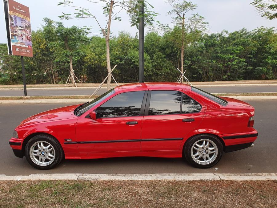 3 Series Bmw E36 320i 1995 Merah Mobilbekas Com
