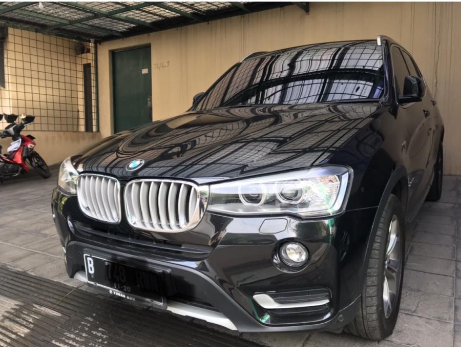 BMW X Series >> X Series Bmw X3 Hitam Tahun 2015 Akhir Simpanan