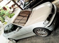 3 series: Jual BMW 318/2002 facelift, triptonic, silver, langsung pakai
