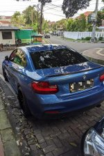 Jual BMW 2 series: 2014 M235i Coupe Estoril Blue