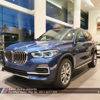X series: Ready Stock New BMW X5 4.0i xLine 2021 Biru not Mercedes-benz GLE450