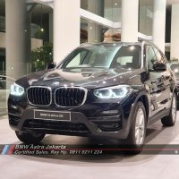 Jual X series: New BMW X3 2.0i sDrive 2020 Hitam Free Voucher Bensin (Not Mercy GLC)
