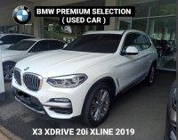 X series: JUAL BMW X3 XDRIVE 20i 2019, KM Istimewa