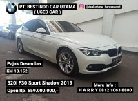 3 series: Jual BMW F30 320i Sport Shadow 2019