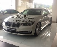 7 series: ALL NEW BMW 740 Li PURE EXCELLENCE 2018 SKD