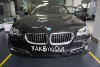 Jual 5 series: BMW 520l AT CKD interior cokelat tua