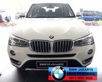 Jual X series: BMW X3 diesel xLine xDrive 2016 DP Ringan