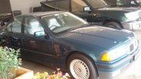 Jual 3 series: BMW 320i Hijau KM 12.000 (Antik) Thn 1994