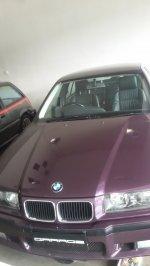 Jual 3 series: BMW 320i M/T Ungu 1995 KM 8.000 (ANTIK)