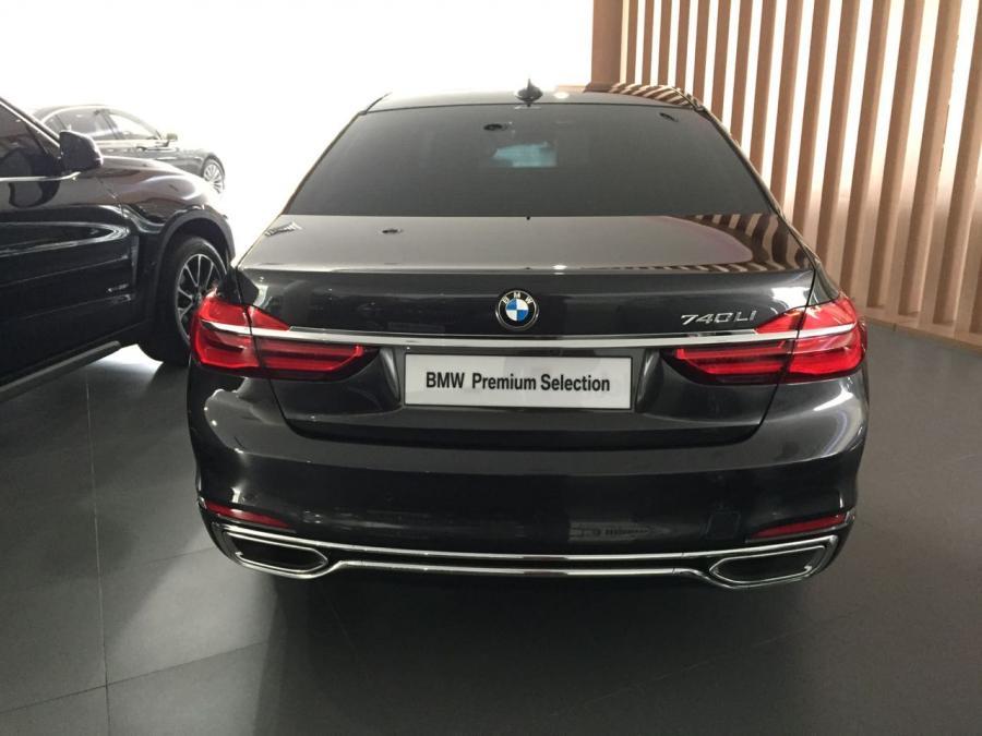 7 series: BMW 740 Li Pure Excellence 2016 G12 - MobilBekas.com