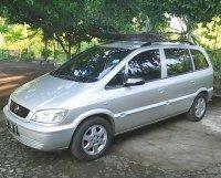 Jual Chevrolet Zafira 1.8 type CD M/T th 2004 silver DK Bali