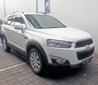 Chevrolet: Jual Captiva Facelift 2.4 Bensin Tiptronic th 2011 type terbaru putih