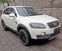 Jual chevrolet Captiva 2.0 Turbodiesel VCDi Tiptronic th 2011 asli Bali