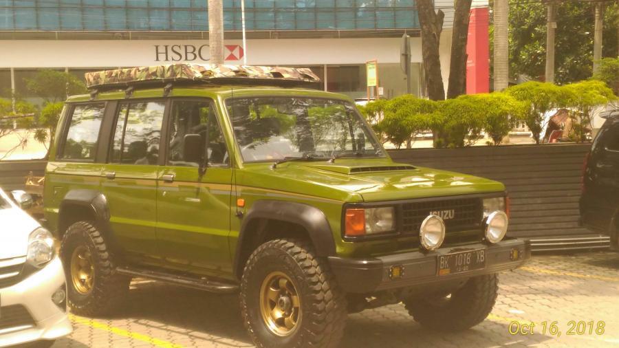 Chevrolet Trooper Tahun 1991 Disel 4x4 Mobilbekas