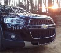 Jual Chevrolet Captiva: Capiva Diesel 2013 Facelift (FL), Matic, Hitam, Km rendah