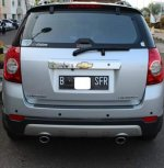 Jual Chevrolet Captiva 2009 AT Silver Metalic