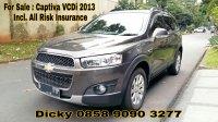 Jual Chevrolet Captiva VCDi 2013, Tangan Pertama, Asuransi All Risk