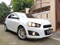 Jual Chevrolet AVEO 1.4 LT AT Putih Full Original 2012
