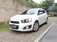 Chevrolet AVEO 1.4 LT AT Putih Full Original 2012 (3.jpg)