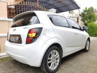 Chevrolet AVEO 1.4 LT AT Putih Full Original 2012 (4.jpg)