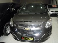 Jual Chevrolet spin 1.5'13 AT Grey pjk pnjang jul'18