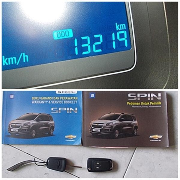 Chevrolet Spin 1.5 LT Dual VVTi M/T th 2013 asli Bali ...