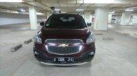 Jual Chevrolet SPIN Activ 1.5 AT  Thn 2014 warna merah metalik Rp.  135JT