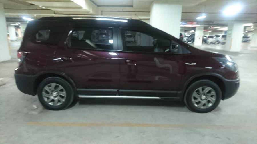 Chevrolet Spin Activ 15 At Thn 2014 Warna Merah Metalik Rp 135jt