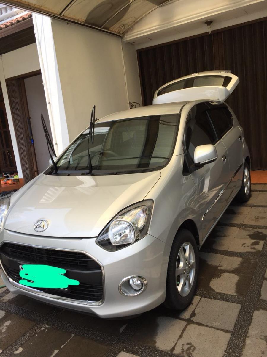 Daihatsu ayla type x 2014 manual kilometer 29 on going pajak plat 02 2019