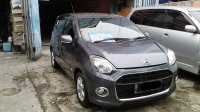 Jual Daihatsu Ayla x matic 2013 abu abu good condition
