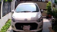 Dijual Daihatsu Ayla type X, AT 2014, low km, 23ribu.