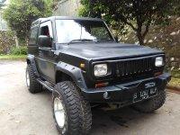 Daihatsu: jual taft rocky 4x4 tahun 1990 hitam doff