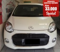 Jual DAIHATSU AYLA X AUTOMATIC WHITE 2014 SPECIAL CONDITION, KM 33 RB.