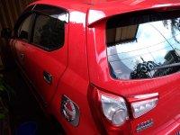 Jual Daihatsu: Ayla x 2018 matic merah solid asli ab