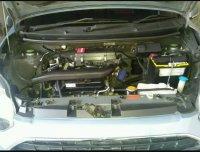 Jual Daihatsu Ayla 2013 warna biru, transmisi automatic, harga 78 Juta