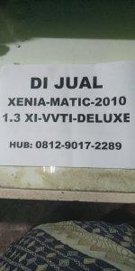 Jual Daihatsu: Xenia Deluxe 1.3 XI 2010 Matic VVTI
