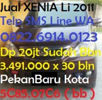 Daihatsu: PekanBaru Jual Mobil XENIA Li 2011