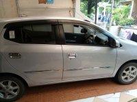Dijual (Overkredit) Daihatsu Ayla X Silver Metalik th.2014