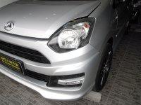 Jual Daihatsu: Ayla M Sporty'14 MT SIlver Full Audio Wood Panel Mobil SGT Terawat