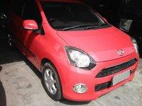 Jual Daihatsu ayla 1.0 M/T type X,warna merah tangan pertama,kondisi bagus