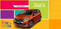 Jual Daihatsu: new ayla facelift TERBARU 2017