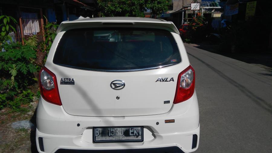 Dijual Over Kredit Tahun 2014 Daihatsu Ayla Type M Sporty