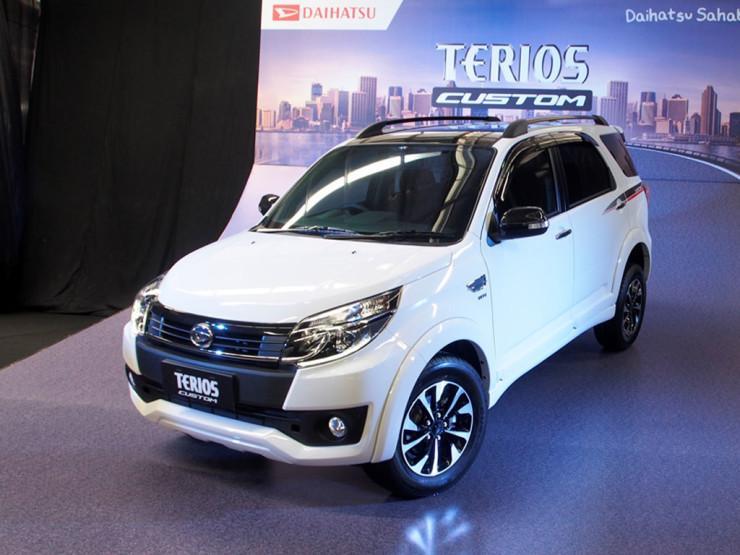 Daihatsu Terios X 2017 TDP 15jt