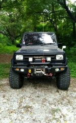 Jual Daihatsu: Taft Rocky 4x4 Diesel 1988-90 Gagah Full Variasi