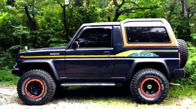 Taft Rocky 4x4 Diesel 1988-90 Gagah Full Variasi ...