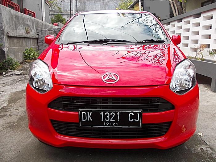 Ayla M 1.0 VVTi Matik th 2016 akhir asli Bali jalan 3000 ...