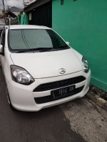 Daihatsu: Dijual ayla putih tipe M manual tahun 2013